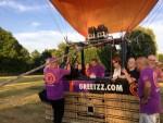 Overweldigende ballon vaart omgeving Maastricht donderdag 5 juli 2018
