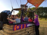 Prachtige ballonvlucht startlocatie Maastricht donderdag 5 juli 2018
