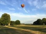 Uitzonderlijke ballon vlucht over de regio Maastricht donderdag 5 juli 2018