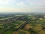 Comfortabele ballon vaart opgestegen op startveld Deventer donderdag 7 juni 2018