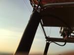 Jaloersmakende ballon vlucht boven de regio Deventer donderdag 7 juni 2018