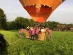 Indrukwekkende ballon vaart in de regio Deventer donderdag 7 juni 2018