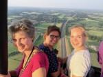 Relaxte ballon vlucht opgestegen op opstijglocatie Deventer donderdag 7 juni 2018