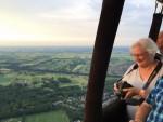Fantastische luchtballon vaart omgeving Veenendaal donderdag 7 juni 2018