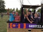 Fabuleuze ballonvlucht in de omgeving Veenendaal donderdag 7 juni 2018