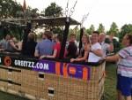 Fenomenale ballonvaart opgestegen op startlocatie Veenendaal donderdag 7 juni 2018