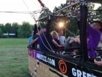 Indrukwekkende ballonvaart in Veenendaal donderdag 7 juni 2018