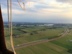 Betoverende luchtballon vaart vanaf opstijglocatie Beesd maandag 16 juli 2018