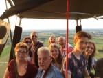 Te gekke ballonvaart gestart in Beesd maandag 16 juli 2018
