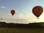 Adembenemende ballon vlucht over de regio Deurne maandag 16 juli 2018