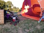 Waanzinnige ballon vaart in Deurne maandag 16 juli 2018