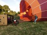 Ultieme ballon vaart gestart op opstijglocatie Deurne maandag 16 juli 2018