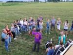 Geweldige ballonvaart boven de regio Deurne maandag 16 juli 2018