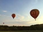 Ongekende heteluchtballonvaart vanaf startlocatie Deurne maandag 16 juli 2018