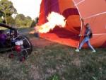 Grandioze ballon vlucht boven de regio Deurne maandag 16 juli 2018