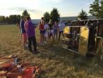 Formidabele ballonvaart omgeving Deurne maandag 16 juli 2018