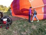 Magnifieke ballon vaart over de regio Deurne maandag 16 juli 2018