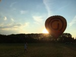 Ongeëvenaarde luchtballon vaart omgeving Deurne maandag 16 juli 2018