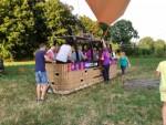 Sublieme luchtballonvaart gestart in Deurne maandag 16 juli 2018