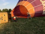 Heerlijke ballon vlucht in de buurt van Deurne maandag 16 juli 2018