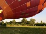 Fascinerende luchtballonvaart in de omgeving Deurne maandag 16 juli 2018