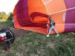 Buitengewone ballon vlucht in de buurt van Deurne maandag 16 juli 2018