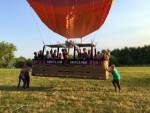 Ongekende ballon vlucht vanaf opstijglocatie Deurne maandag 16 juli 2018