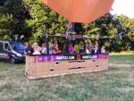 Jaloersmakende ballonvlucht opgestegen in Deurne maandag 16 juli 2018