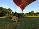 Heerlijke ballon vlucht over de regio Deurne maandag 16 juli 2018