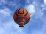 Heerlijke luchtballonvaart over de regio Capelle aan den ijssel op maandag 20 augustus 2018