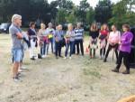 Jaloersmakende ballonvlucht opgestegen op opstijglocatie Hoogland op maandag 20 augustus 2018