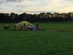 Adembenemende luchtballon vaart gestart in Hoogland op maandag 20 augustus 2018