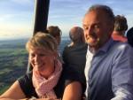 Sublieme ballonvlucht in de omgeving van Hoogland op maandag 20 augustus 2018