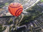 Exceptionele ballonvaart vanaf opstijglocatie Hoogland op maandag 20 augustus 2018