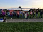 Verbluffende ballon vaart startlocatie Hoogland op maandag 20 augustus 2018
