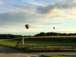 Ongelofelijke mooie heteluchtballonvaart in de omgeving van Hoogland op maandag 20 augustus 2018