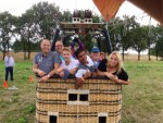 Meesterlijke heteluchtballonvaart regio Tilburg op maandag 20 augustus 2018