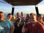 Feestelijke ballonvaart in Zwolle op maandag 20 augustus 2018