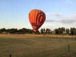 Ultieme ballonvlucht opgestegen op startlocatie Barneveld maandag 23 juli 2018