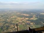 Indrukwekkende luchtballonvaart over de regio Barneveld maandag 23 juli 2018