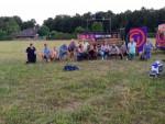 Ultieme heteluchtballonvaart in de omgeving Colmschate maandag 23 juli 2018