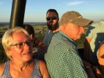 Perfecte ballon vlucht in de regio Colmschate maandag 23 juli 2018