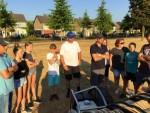 Ultieme luchtballonvaart in de regio Uden maandag 23 juli 2018