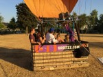 Uitmuntende ballonvlucht in de buurt van Uden maandag 23 juli 2018