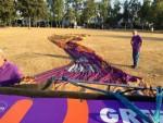 Magnifieke heteluchtballonvaart boven de regio Uden maandag 23 juli 2018