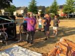 Jaloersmakende luchtballonvaart over de regio Uden maandag 23 juli 2018