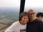 Bijzondere heteluchtballonvaart in de buurt van Elst ut op maandag 3 september 2018