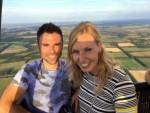 Magische luchtballon vaart in de omgeving Assen maandag 30 juli 2018