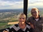 Comfortabele ballonvaart opgestegen op startlocatie Assen maandag 30 juli 2018