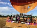 Prachtige ballon vlucht in de buurt van Deurne maandag 30 juli 2018